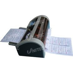 Semi - Automatic Business Card Slitter 30 Cards / Min With CE Certificated