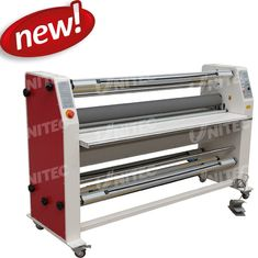 6mm / Minute Roll To Roll Lamination Machine Cold Heavy Duty Laminators BU-1600RFZ-Y