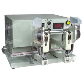 165mm Working Length Automatic Eyelet Machine 370W Double Head